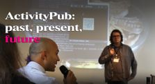 """""""ActivityPub: past, present, future"""" - Keynote by Christopher Lemmer Webber #apconf by ActivityPub Conference"""
